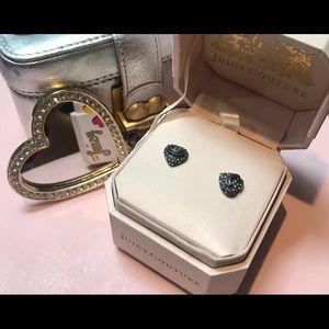 Juicy Couture vintage earrings new in original box